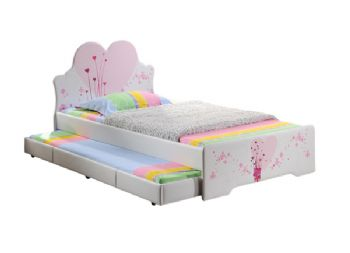 Childrens Love Heart Bed